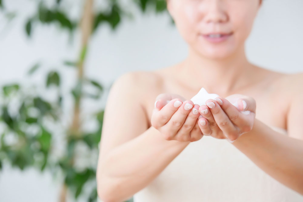 40代の敏感肌向けクレンジング方法や注意点