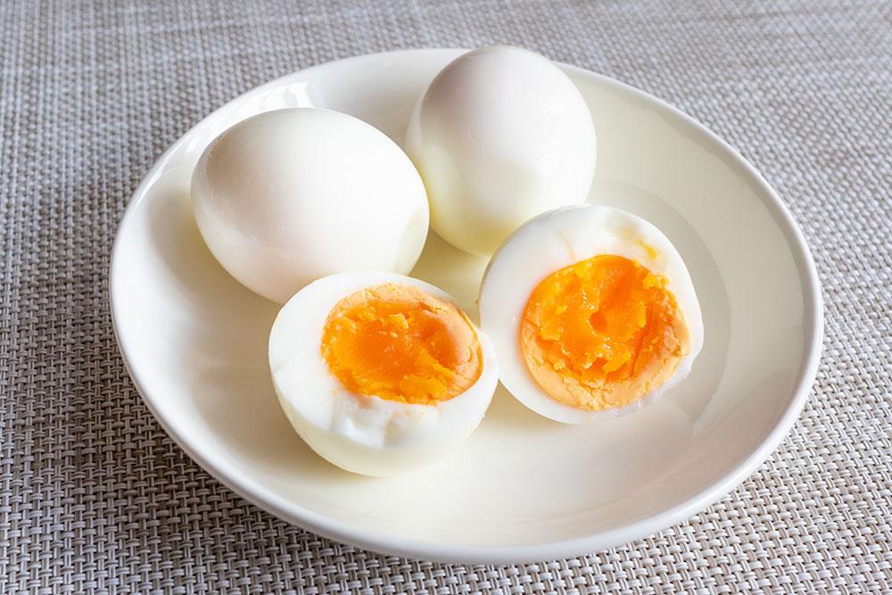 間食にはゆで卵