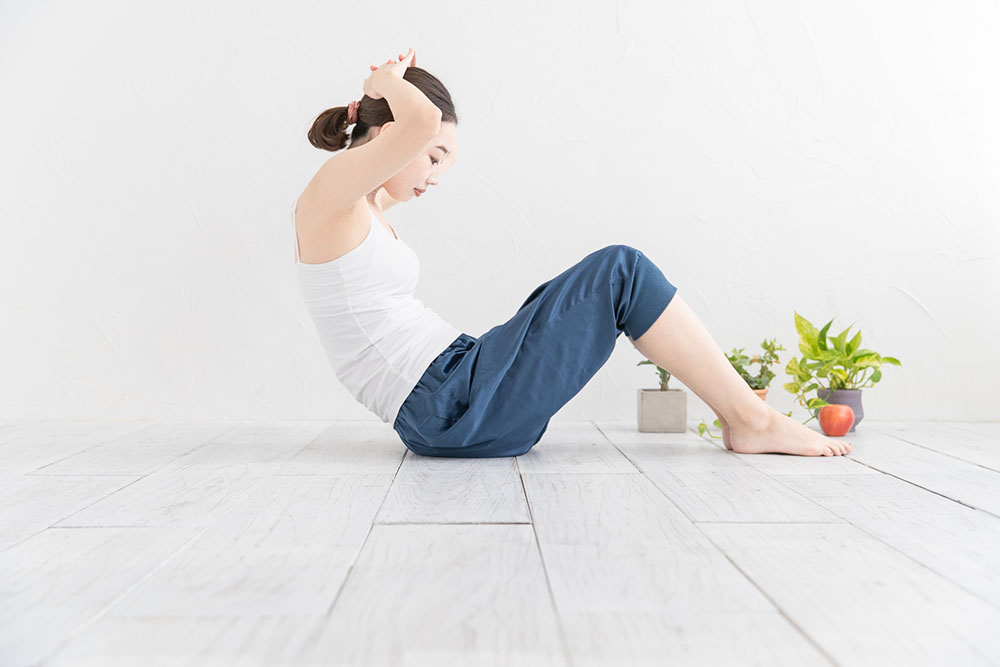 便秘になりにくくするには腸の動きを活発にする運動をする